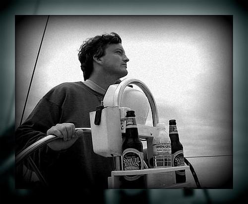 Mr P sailing