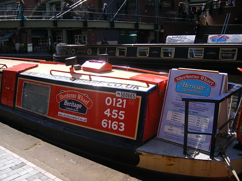 Sherborne Wharf Heritage Narrowboats - Brindley Place