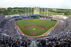 Royals Stadium (Old One Eye) Tags: blue sports sport canon ball scott major fan baseball beck stadium cincinnati kansascity missouri 5d fans kc reds complex base league truman mlb royals kansascityroyals kauffmanstadium allstargame kauffman jacksoncounty majorleaguebaseball scottbeck scottbeckphotography allstargame2012