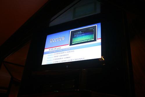 Carnival Elation - TV