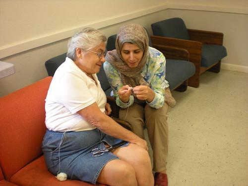 Learnign crochet