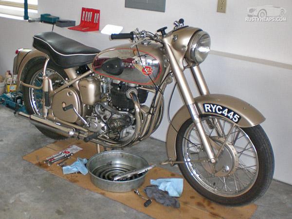1954 BSA A10 Golden Flash