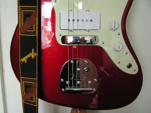 Fender Jazzmaster with bridge cover