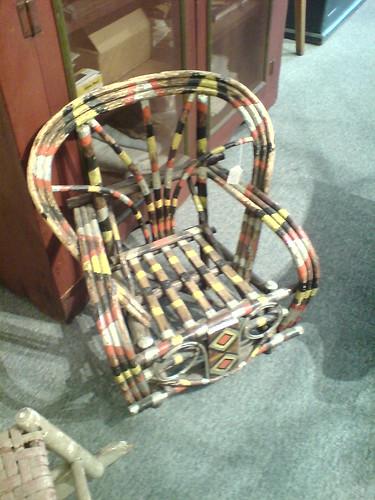 Wild Twig Adirondack Chair