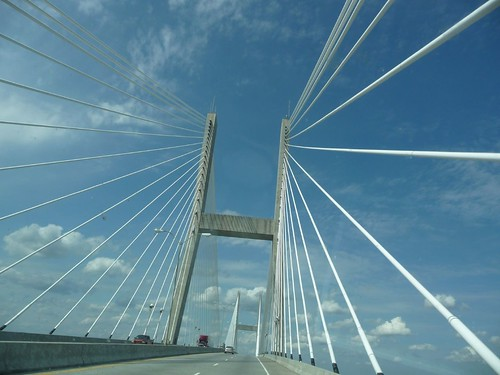 bridge across the river.
