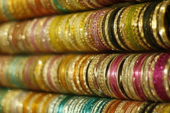 Indian Bangles (Mumu24) Tags: india glitter delhi variations flashy shimmer bangles dillihaat incredibleindia mywinners flickrdiamond canoneos40d colorfulindia flickraward colorfulbangles