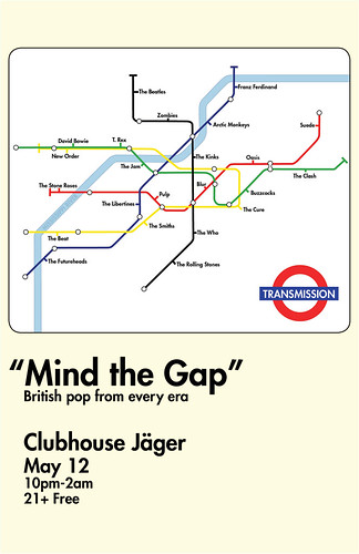 "TRANSMISSION- ""Mind the Gap"""