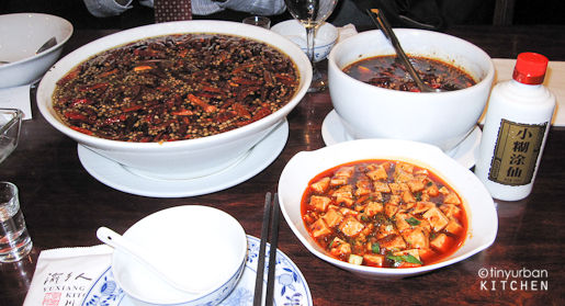 Sichuan Meal in China