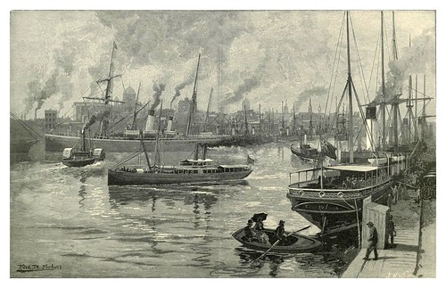 031-Melbourne desde Yarra-Australasia illustrated (1892)- Andrew Garran