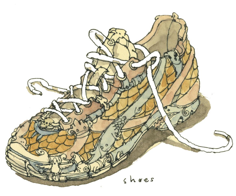 """""""Run shoe"""" de Mattias Adolfsson"""