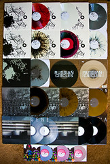 Russian Circles Vinyl Collection - UPDATED (brianstowell) Tags: pink red music white black station rock metal silver gold purple arms post geneva circles album awesome gray vinyl collection clear record these split enter russian snakes splatter instrumental are