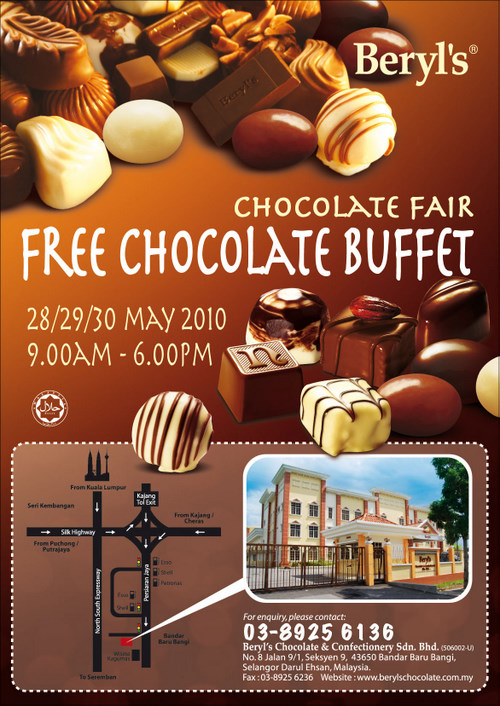 Free Chocolate Buffet @ Beryl's Chocolate‏