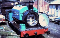 S0715 MW2047/26 On Display 8.68 (davidncooke_686) Tags: uk industrial railway steam locomotive manning mw wardle 060st