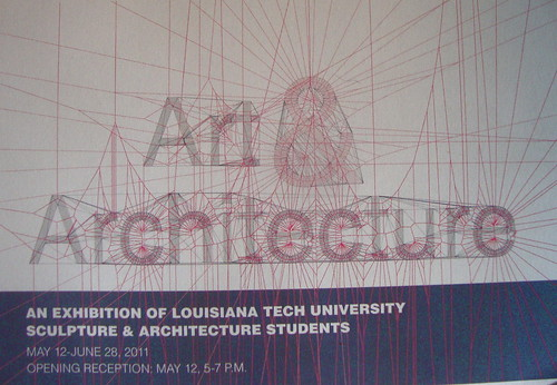 Art & Architecture exhibit, Donna Service Gallery, Bossier Parish Community College, May 12 - June 28; 678 6464 by trudeau
