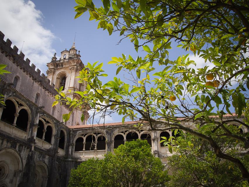 Oranges au monastère d'Alcobaça