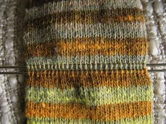 Two DPNs in knitting - there is a row inbetween