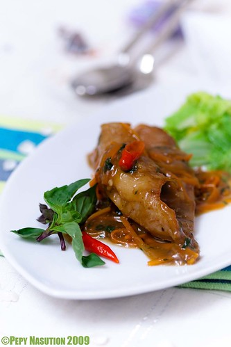 Braised Fish in Hoisin and Chili 2
