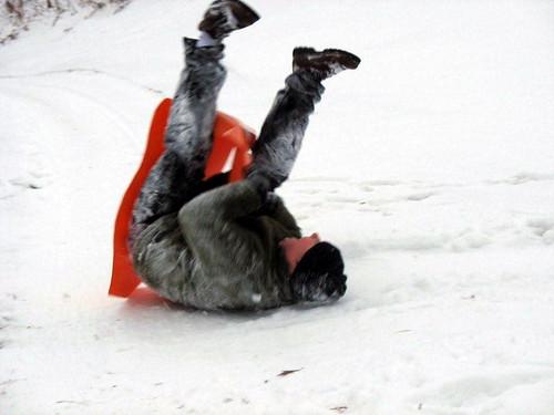 ccorrect upside down jr tobogganing