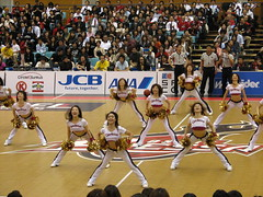 Osaka Evessa Cheerleaders - Osaka, Japan 7 (glazaro) Tags: city basketball japan japanese asia cheerleaders dancers stadium arena dome  osaka sendai kansai kadoma namihaya bjleague evessa 89ers
