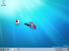 Windows 7 Beta with AutoCAD 2009 Installed