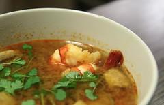 Tom Yam Goong - moja skromna propozycja na zimowy konkurs zup,  zapewniam, że rozgrzewająca ;) by Bart0lini