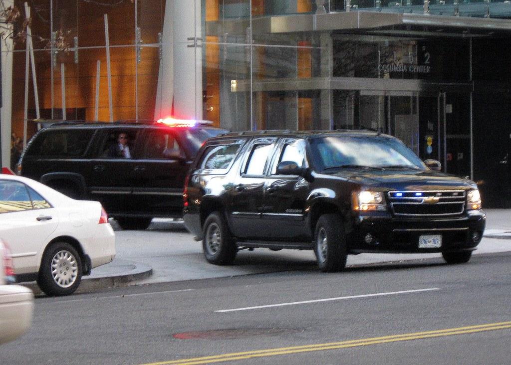 Obama's SUV (I think)