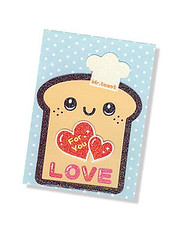 Mr Toast Card (Lady Luck Rules OK) Tags: paris love handmade toast lovers gift valentinesday greetingscard lovetoken valentinescard ladyluckrulesok wwwladyluckrulesokcom