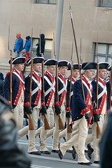 fife and drum corps (pixelmasseuse) Tags: washingtondc pennsylvaniaavenue 44 oldguard barackhusseinobama presidentobama thechallengefactory inaugurationday2009