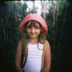 flores (gleicebueno) Tags: flowers flores girl children holga memories carol dreams floresta ferias memoria duplaexposicao lembrancas