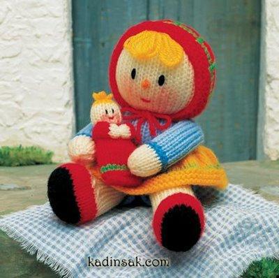 örgü oyuncak bebek resimleri