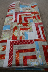 Polka Dot Road quilt