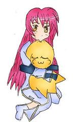 (a3fene_q8) Tags: woman anime love girl toy cartoon manga toon