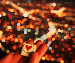 Just take my heart with you (ShanLuPhoto) Tags: travel heart bokeh korea seoul southkorea  seoultower  namsan   republicofkorea