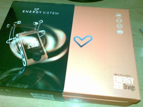 Energy System 3020 Orange