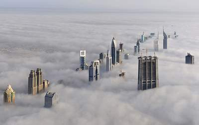 dubai above the trouble or head in the clouds...