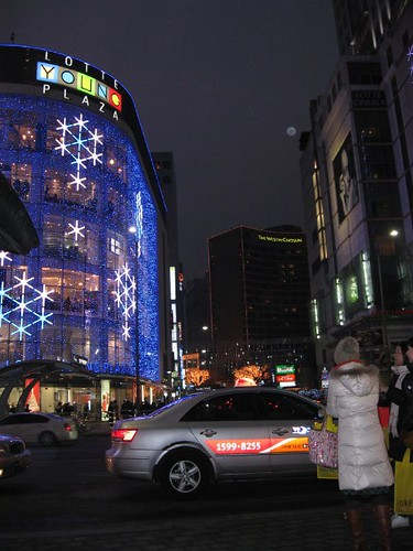 Myeong Dong- Lotte Young Plaza.