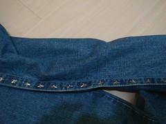 Detalhe das estrelinhas na lateral - Jeans Triton (Cherry Hills Bazar) Tags: swap bazar triton venda colcci troca brech