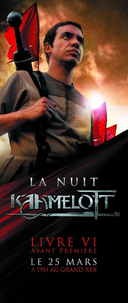 Affiche Grand Rex Kaamelott