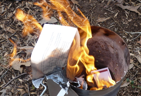 Burning DCCC Solicitation 3