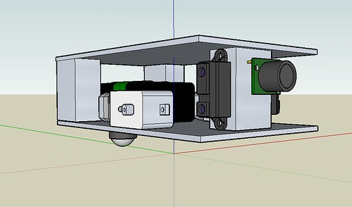 RobotNo1 Chassis in Google SketchUp