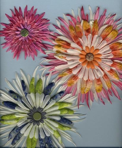 Dabber - tie-dye flowers