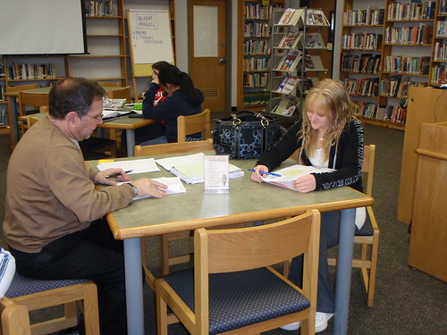 Teacher meets with student! by NJLA: New Jersey Library Association, on Flickr