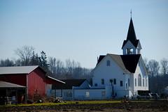 Rural church - Skagit Valley WA (Tony Cyphert) Tags: church barn rural hero winner d80 thechallengefactory yourock1stplace herowinner storybookwinner pregamewinner