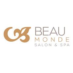Beauty Salon Logo Design Beau Monde Amp Spa AtomicDesign
