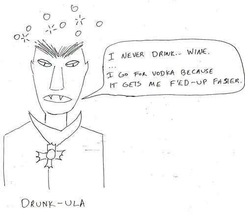 366 Cartoons - 026 - Drunkula