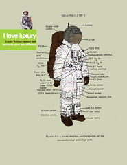 I love luxury / Louis Vuitton space suit (repost for fashion week) original post on april 2009 (Rtrofuturs (Hulk4598) / Stphane Massa-Bidal) Tags: luxury luxe louisvuitton astronaute