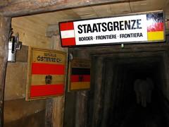 subsurface border Austria-Germany in salt mine (twinni) Tags: salzburg austria sterreich salt saltmine salzbergwerk hallein drrnberg baddrrnberg salzwelten mw1504