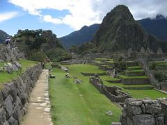 Machu Picchu - Central Plaza