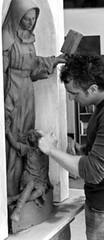 escultura santa rafaela maria
