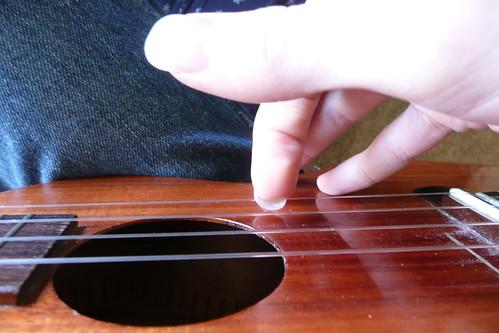 fingerpicking the ukulele